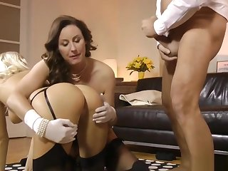 Jizz Mouth Stockings Euro